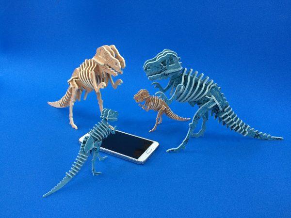 【展示商談会出展サンプル】~恐竜サンプルをつくってみました~