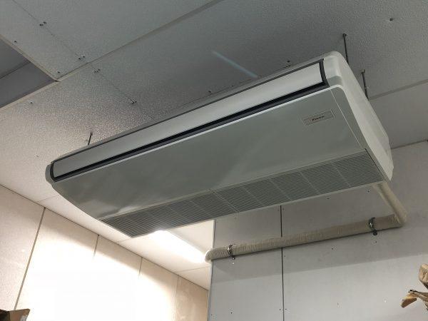 【熱中症対策 作業環境改善 現場空調新設しました】